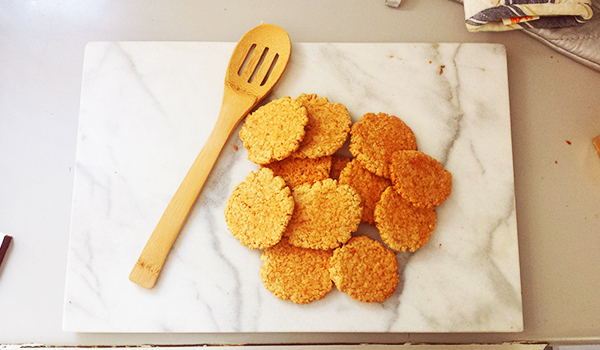 Rolled Oats and Honey Cookies @_caas