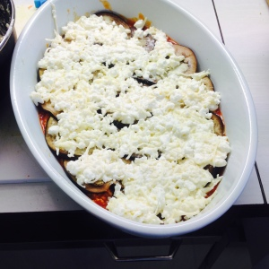 aurbergine lasagna